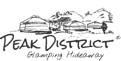 Peak District Glamping Hideaway Logo